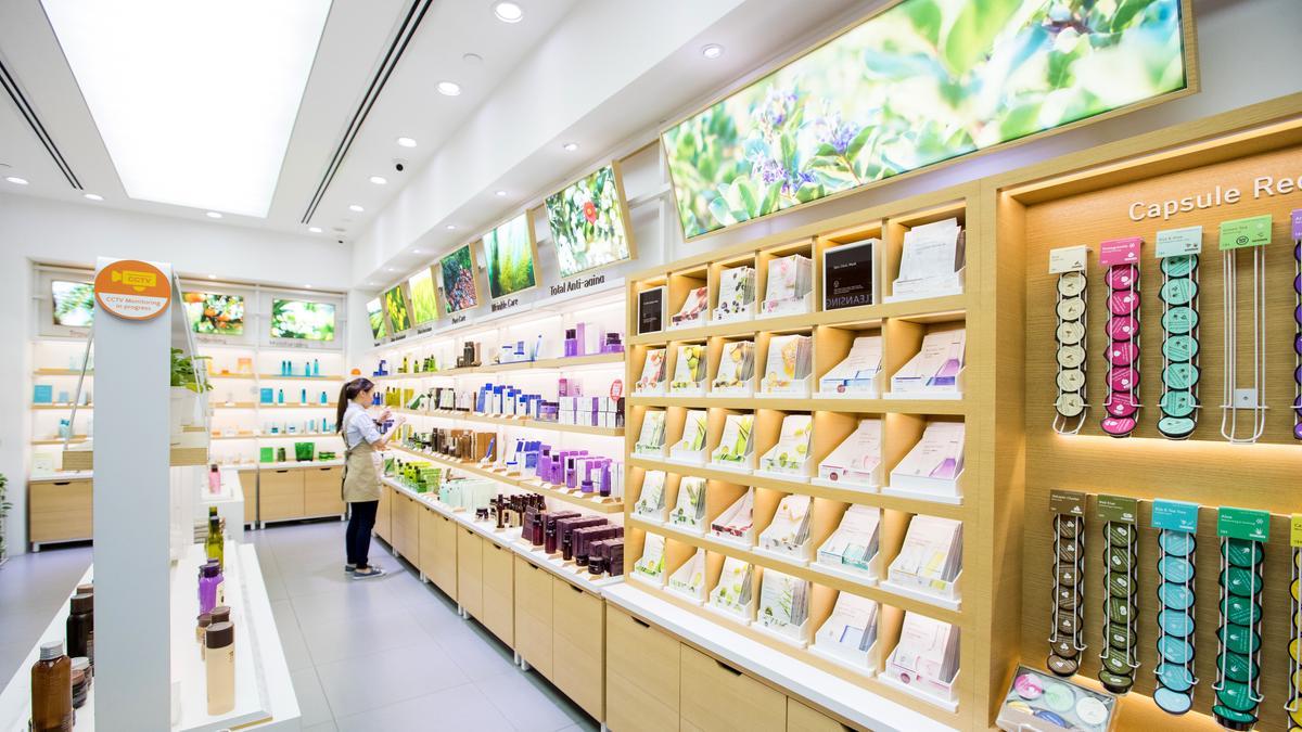 costmetics store