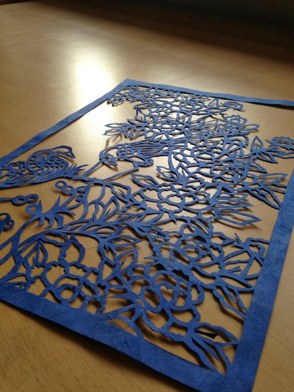 hanji paper art