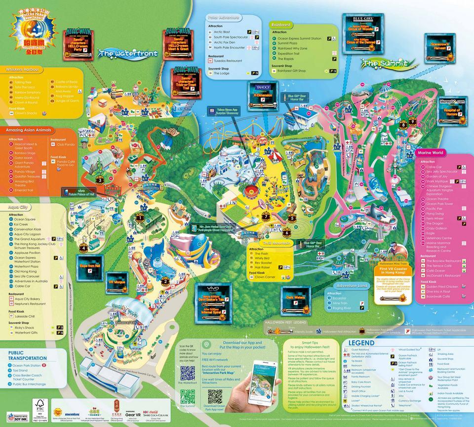 Ocean Park Map2