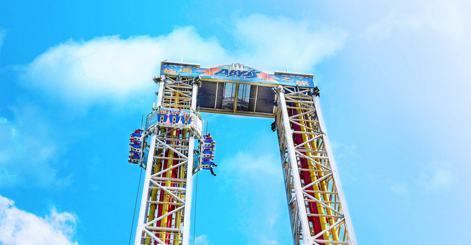 The Abyss Turbo Drop (the Summit, Ocean Park)
