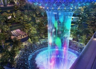 What to do in Changi Airport — Top 9 things to do in Changi Airport, Singapore rain-vortex-in-jewel-changi-airport