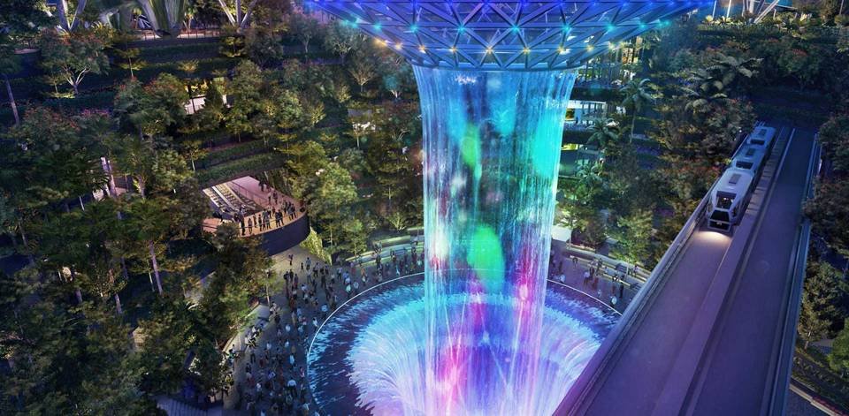 ,what to do in jewel changi,jewel changi airport review,things to do in jewel changi