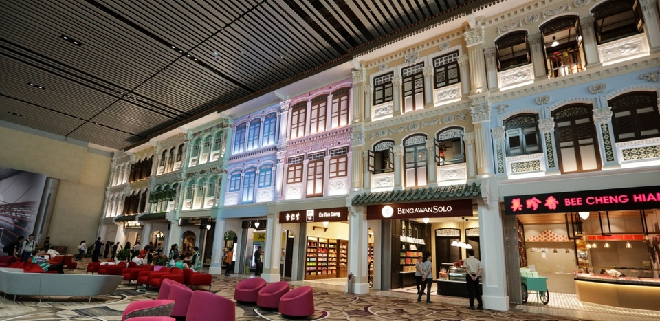 A Peranakan touch to Terminal 4