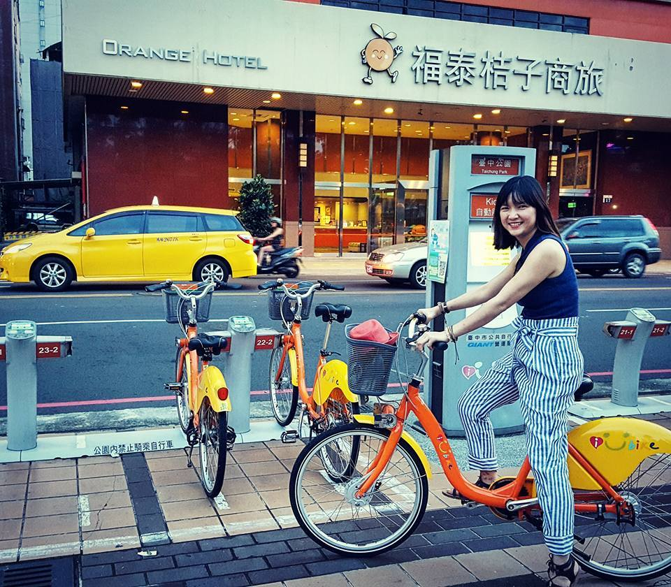rent bike taiwan