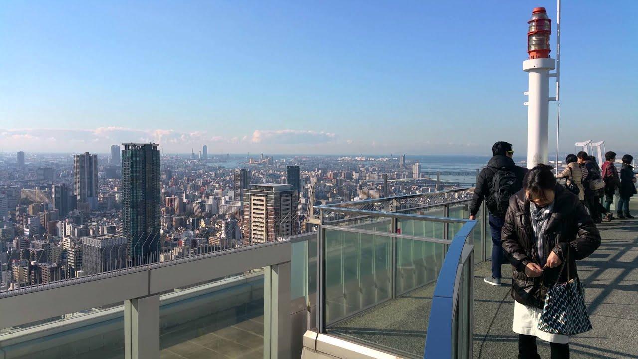 umeda-sky-building deck