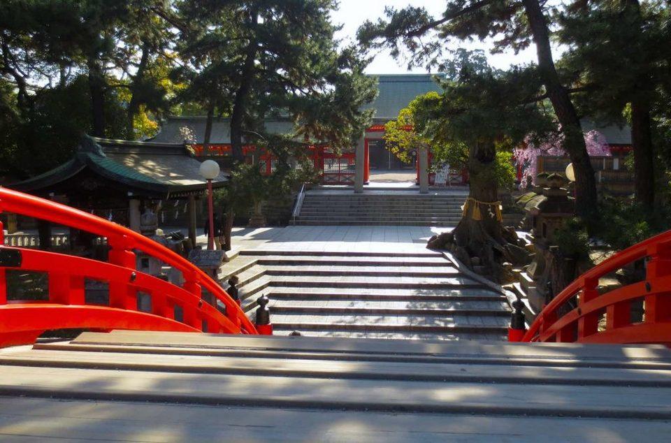 Sumiyoshi taisha osaka