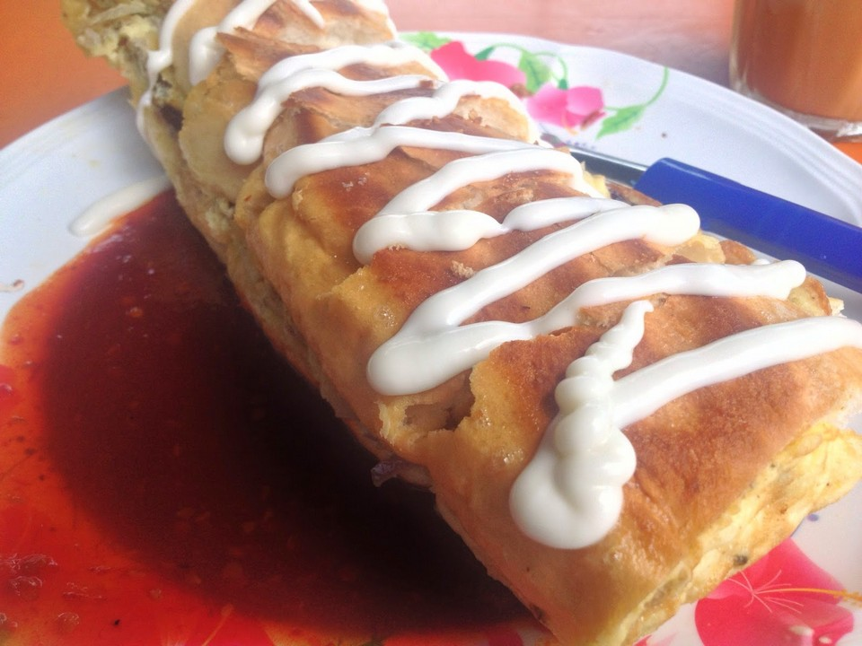 Roti John at Raimah Eating House