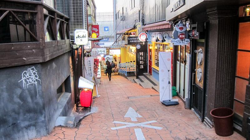 Itaewon area, Itaewon street