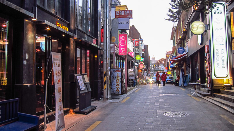 itaewon Photo: seoul itinerary 5 days blog.