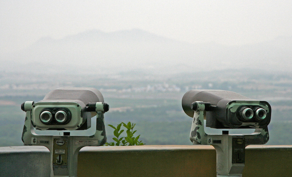 Korean DMZ Demilitarized Zone Dora Observatory