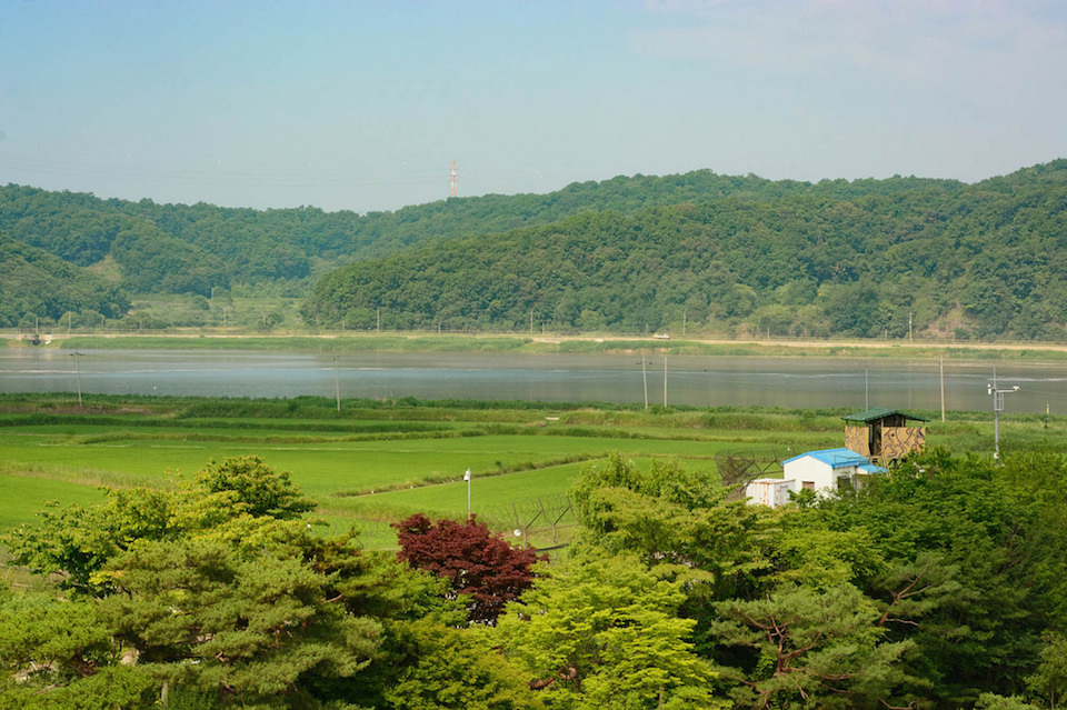 Korean DMZ Demilitarized Zone Imjingak Park