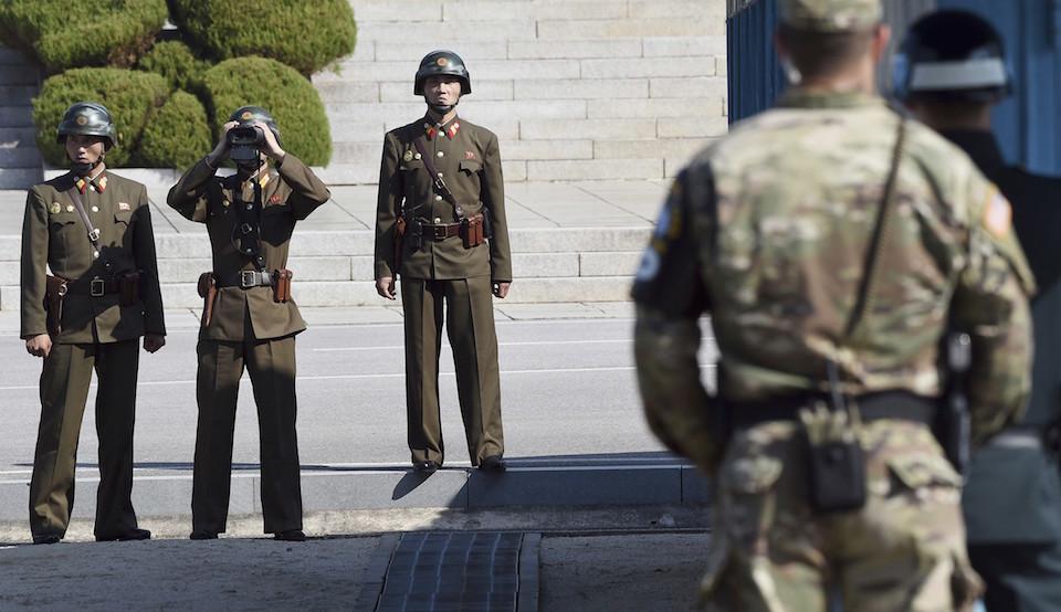 Korean DMZ Demilitarized Zone Joint Security Area JSA