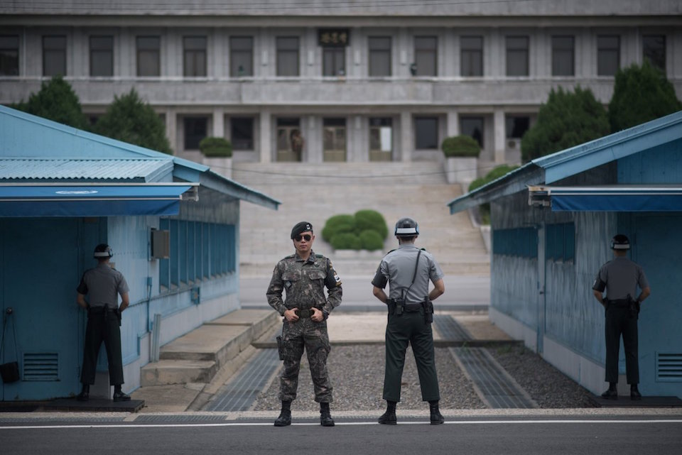 Korean DMZ Demilitarized Zone Joint Security Area JSA korea dmz blog.