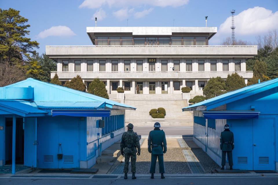 Korean DMZ Demilitarized Zone Panmunjom Joint Security Area JSA