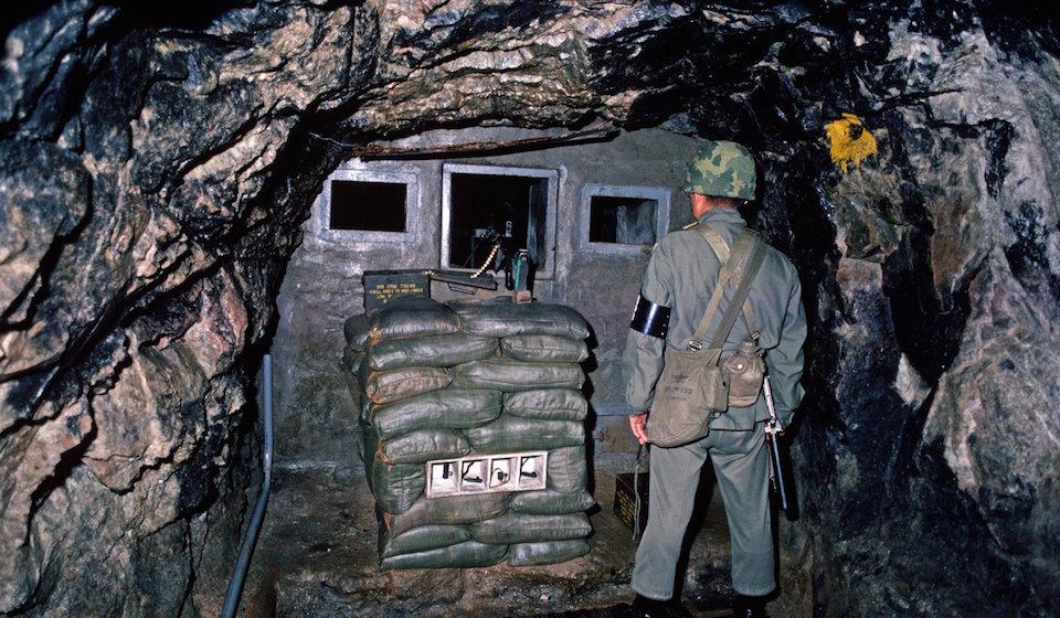 Korean DMZ Demilitarized Zone Third Infiltration Tunnel