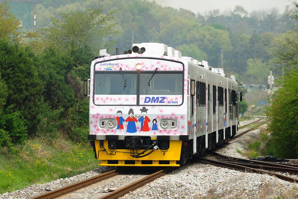 Korean DMZ Demilitarized Zone Peace Train