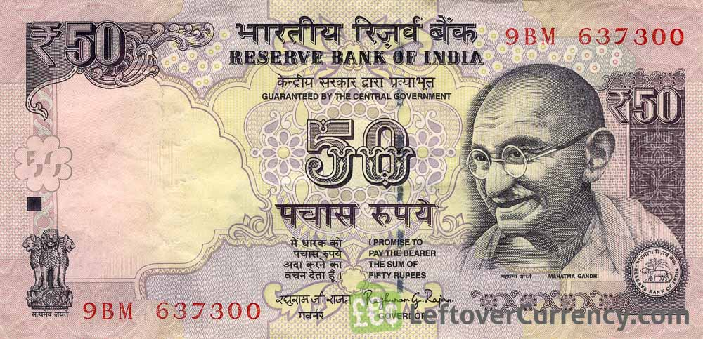 50 Indian Rupees