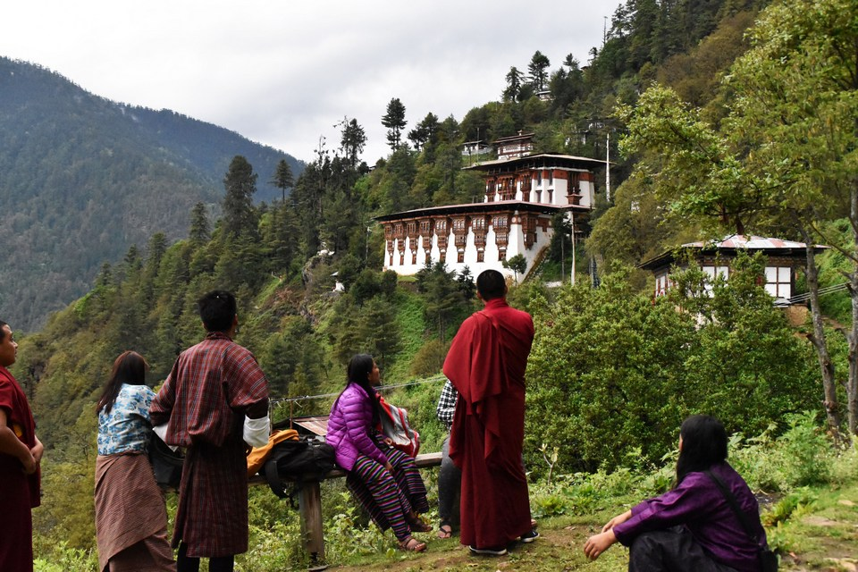 One-day-hiking-places-in-Thimphu-Bhutan