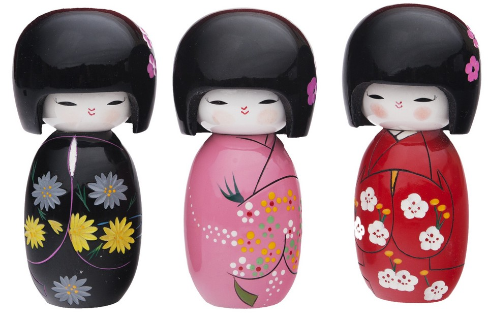 Japanese Doll Lacquer