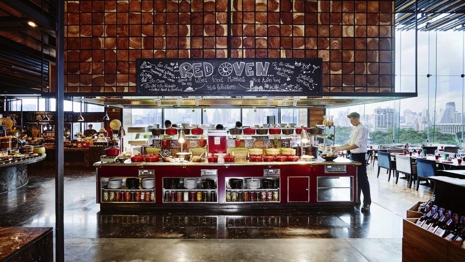 Red Oven Sofitel restaurant bk