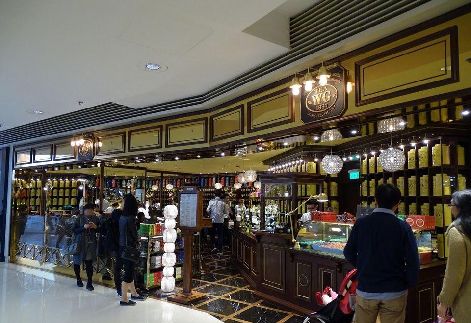 TWG tea shop