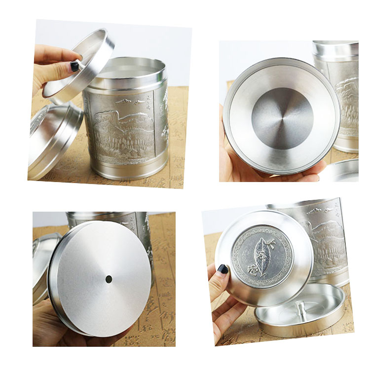 Genuine-pure-tin-cans-tin-canisters-large-big-mouth-Malaysia-Xihu-products-handmade-custom-luxury-gift