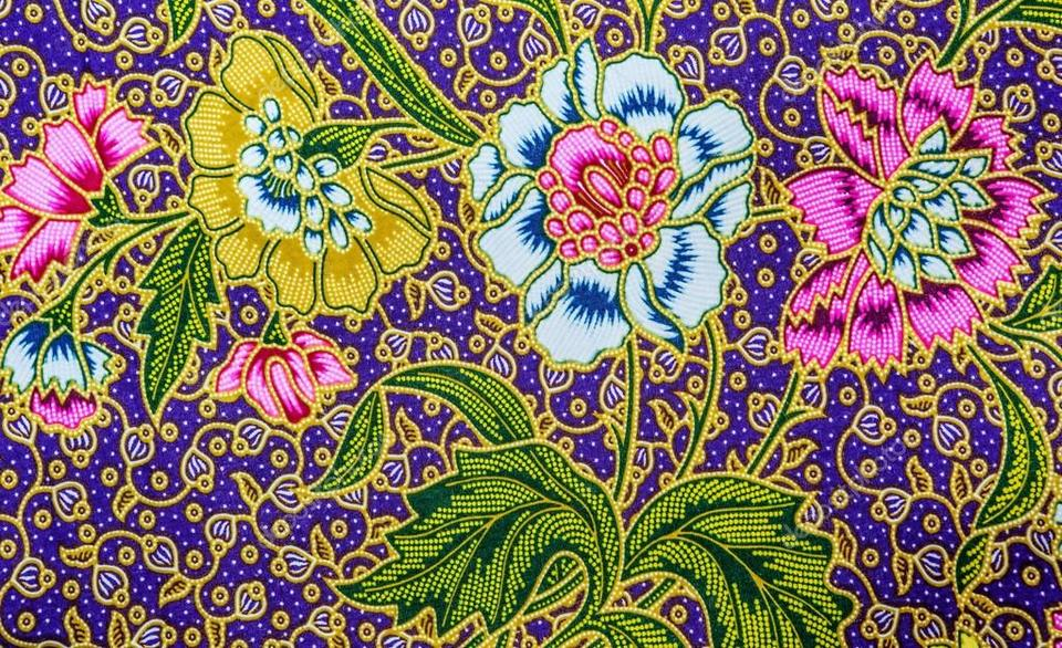 Malaysia Batik Pattern.1