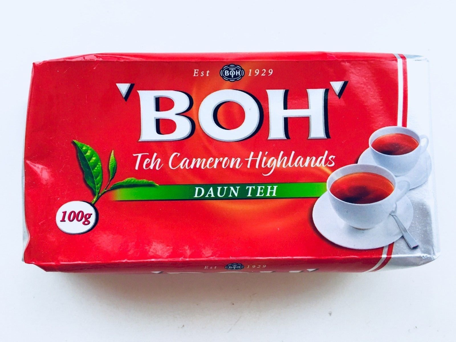 Malaysia Cameron HIGHLANDS Boh Black Tea Leaves