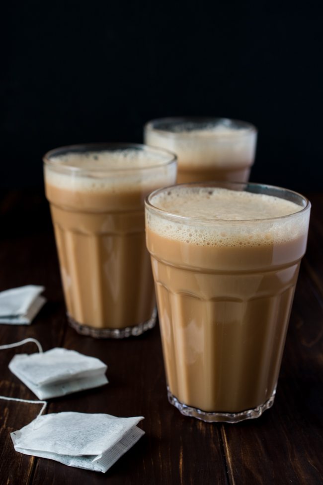 Teh Tarik (literally translated Pulled Tea) is a rich and creamy tea