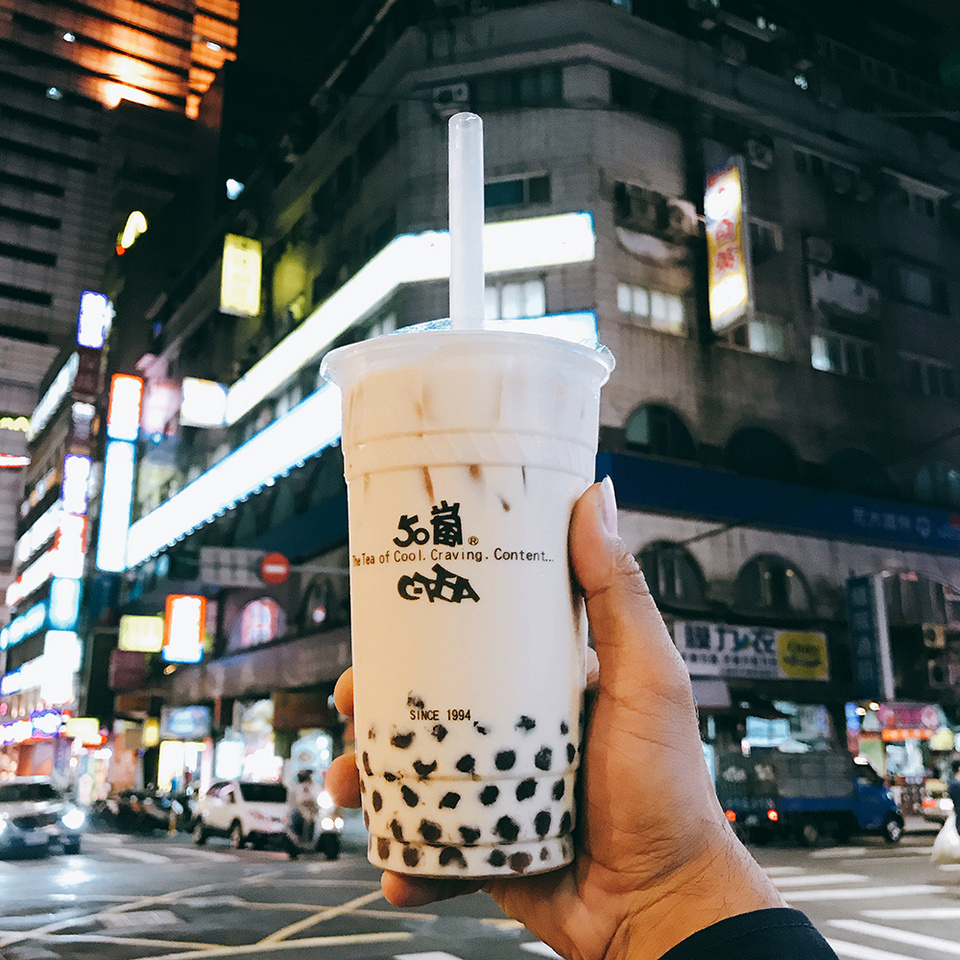 bubble milk tea taiwan