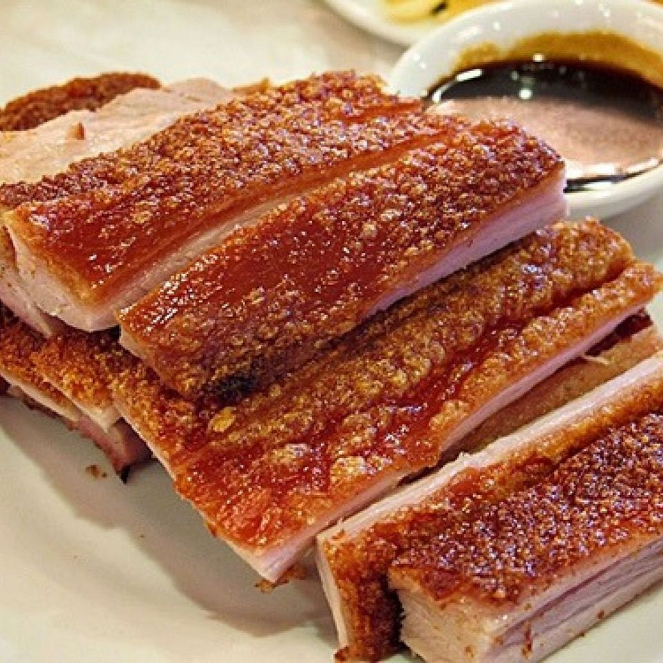 roasted fried pork taiwan