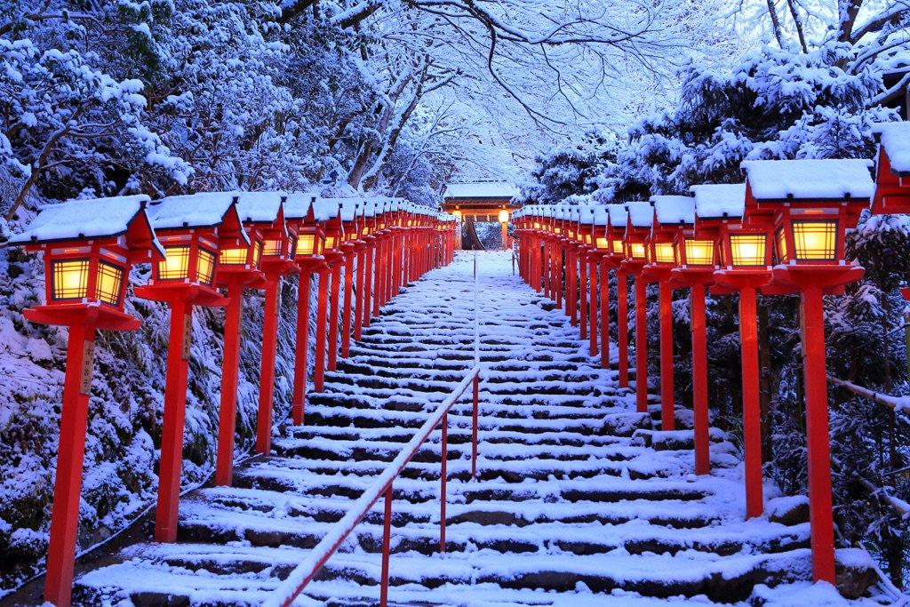 Kifune Shrine. Kyoto