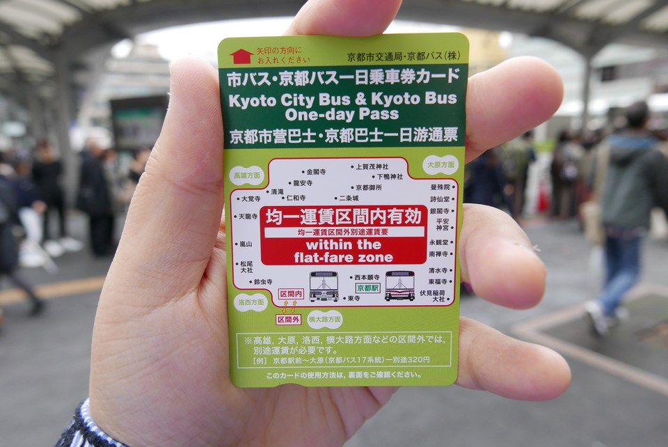 Kyoto-one day Bus-Pass