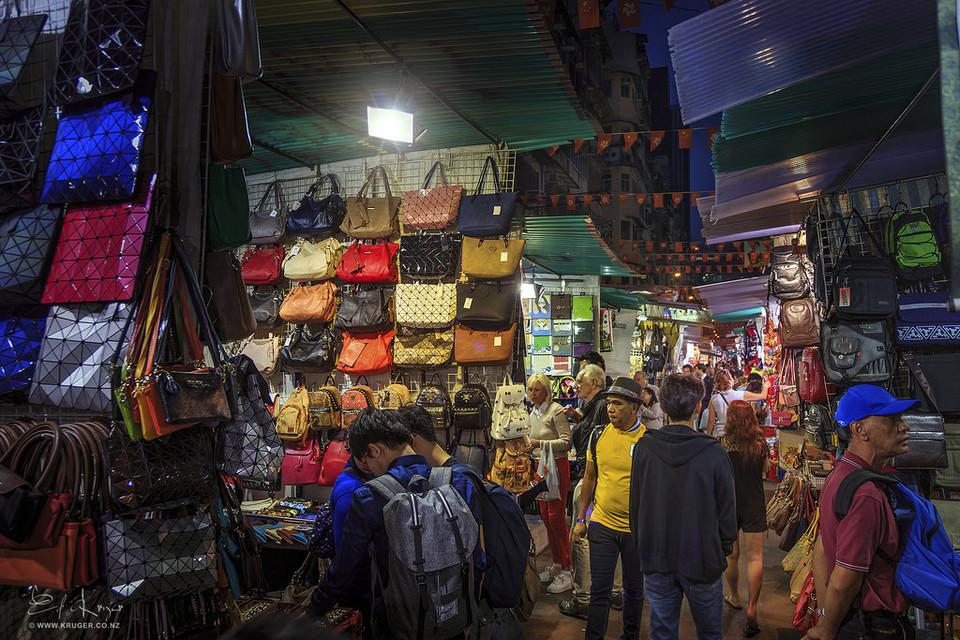 Temple Street Market, Hong Kong