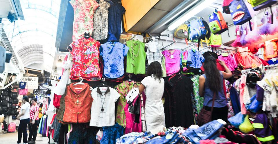 Stanley Market, Hong Kong