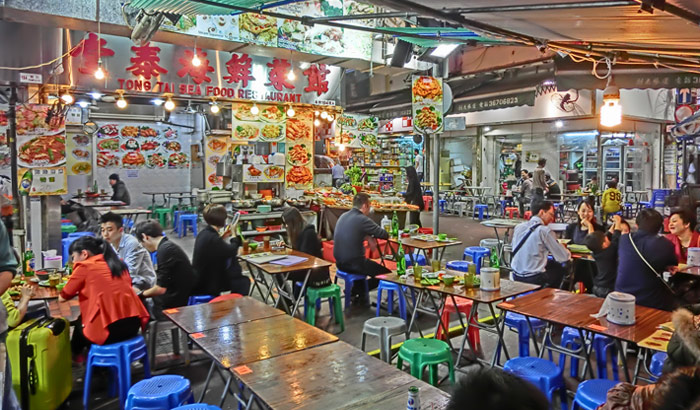 Hong Kong night market