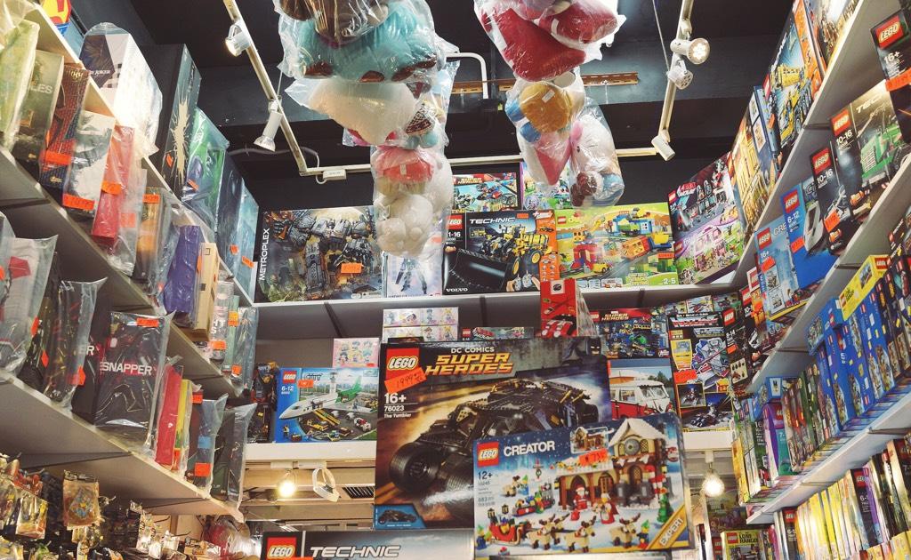 Lego shop on Tai Yuen Street