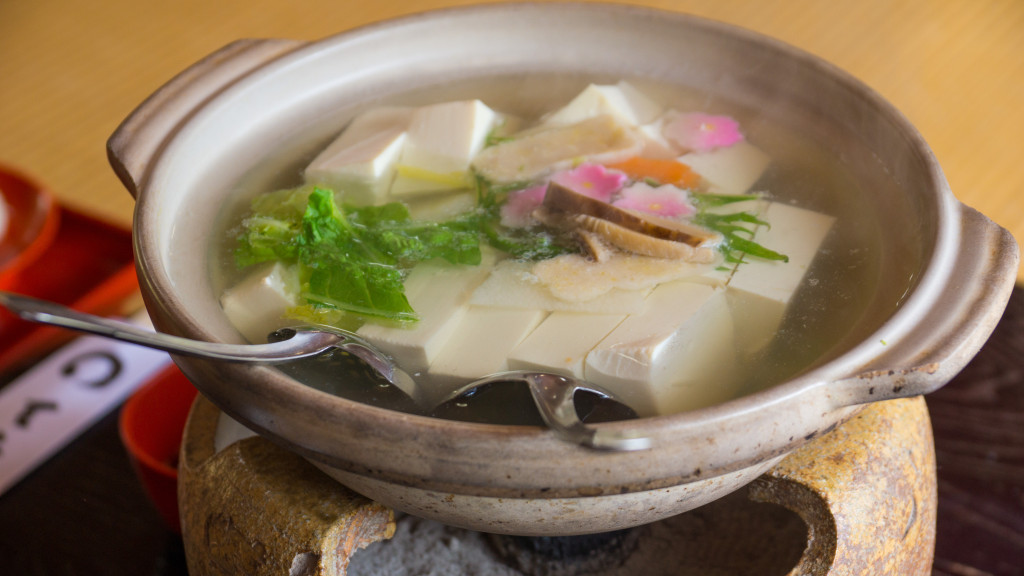 Yudofu (boiled tofu) Pot