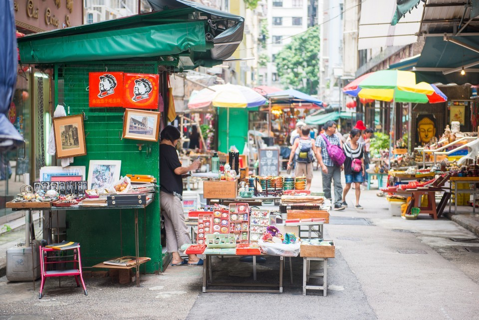 Cat Street, Hong Kong