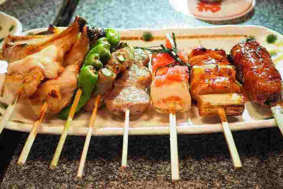 Kyoto grilled skewers