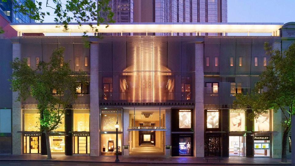 Grand Hyatt Melbourne Hotel Exterior