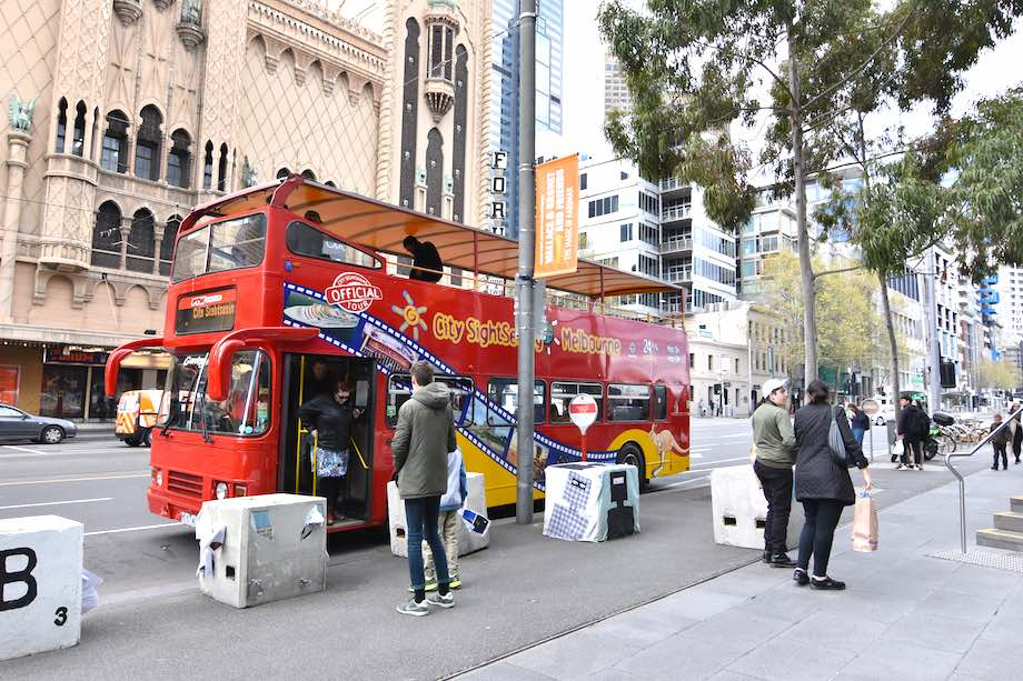 Melbourne Hop On Hop Off Bus Tour