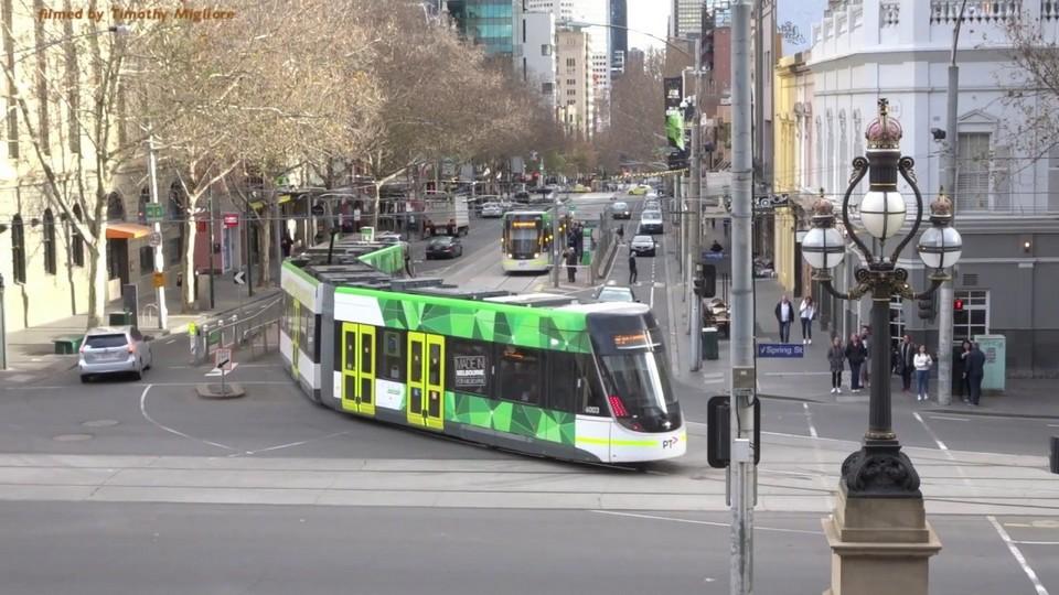 New Melbourne E-class tram