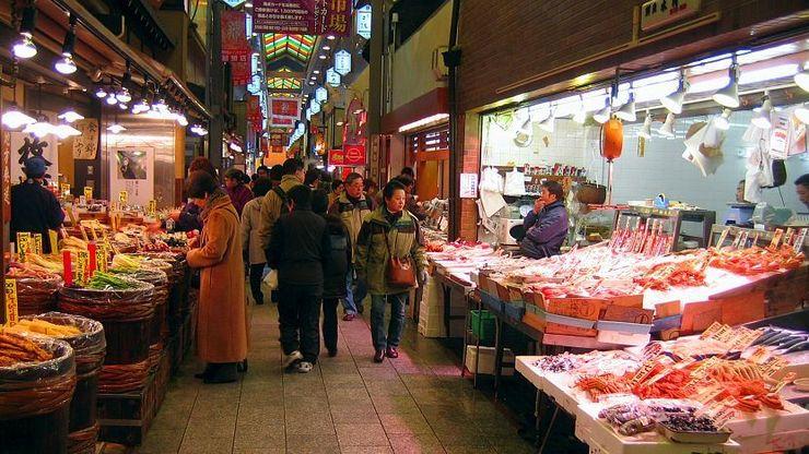 nishiki market kyoto japan (1)