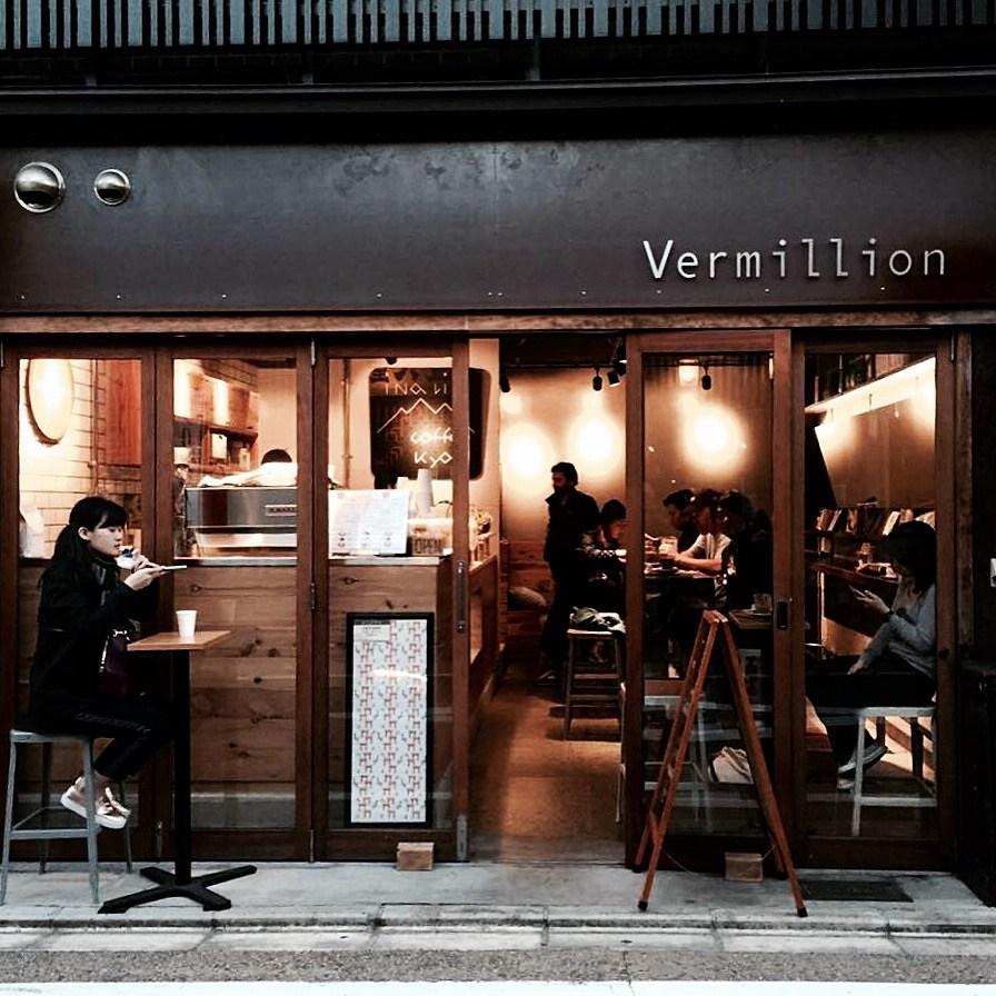 Vermillion Coffee Kyoto
