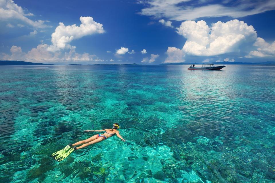 Snorkelling-in-Kota-Kinabalu