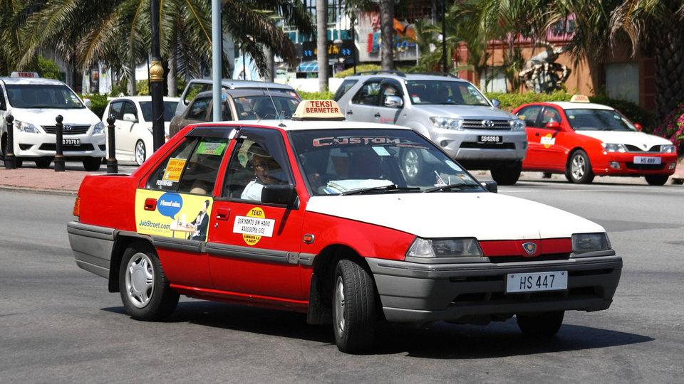 Taxi-in-Kota-Kinabalu