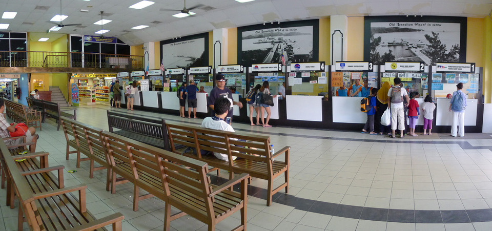 Ticketing Hall of Jesselton Point