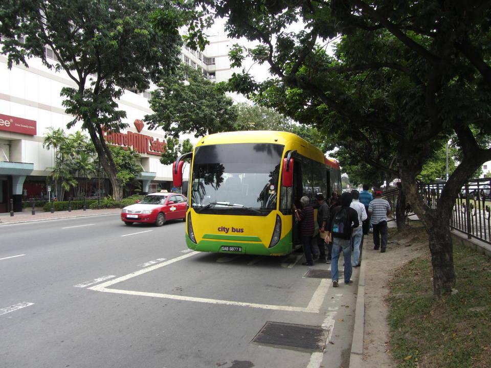 city bus kota kinabalu