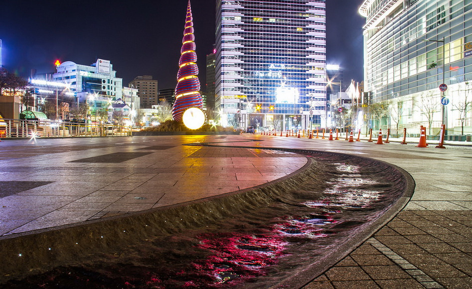 Cheonggye Plaza, Seoul, Korea